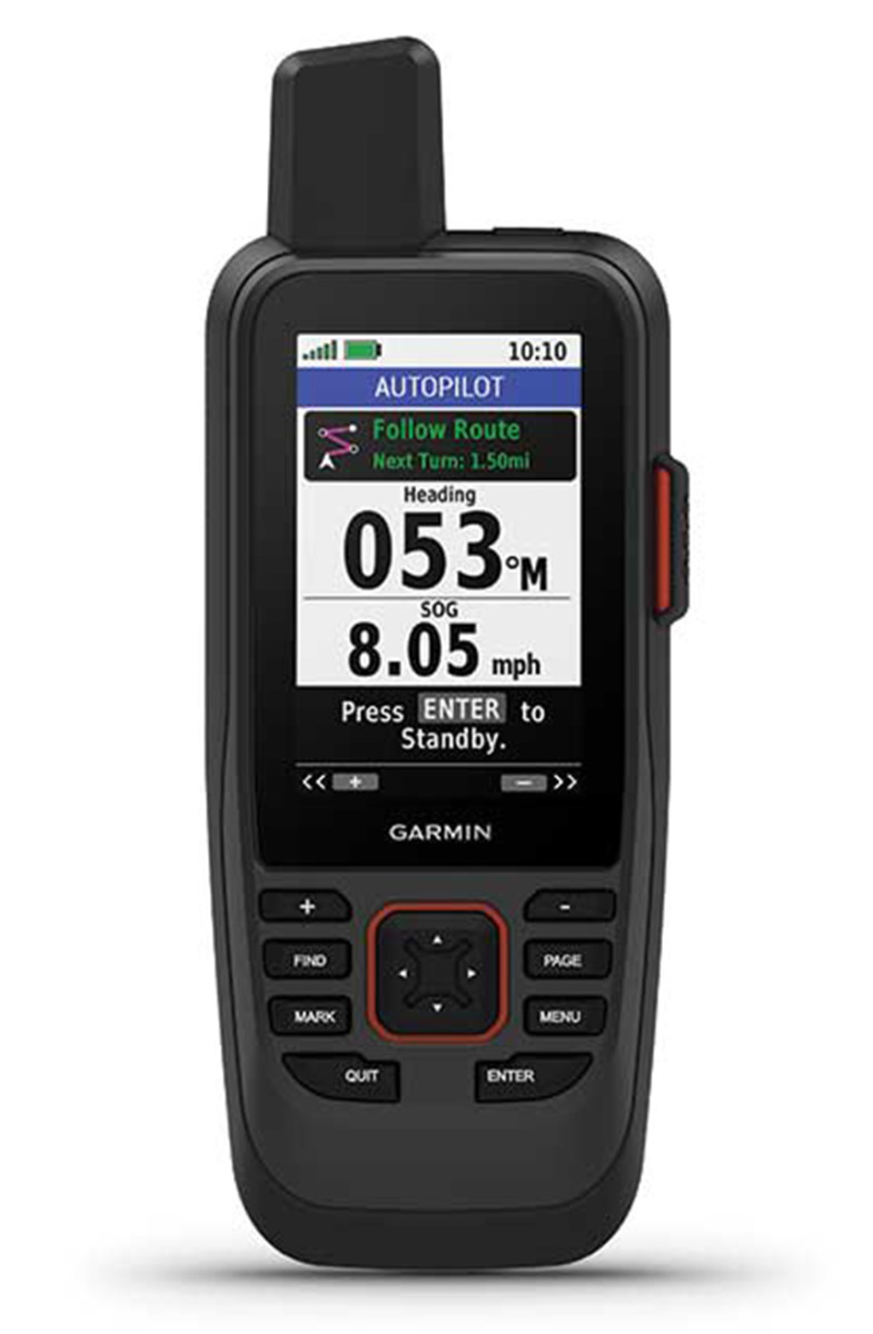 The Garmin GPSMap 86sci