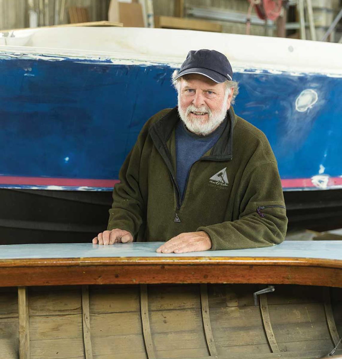 Joe Reid continues tobuild in wood.