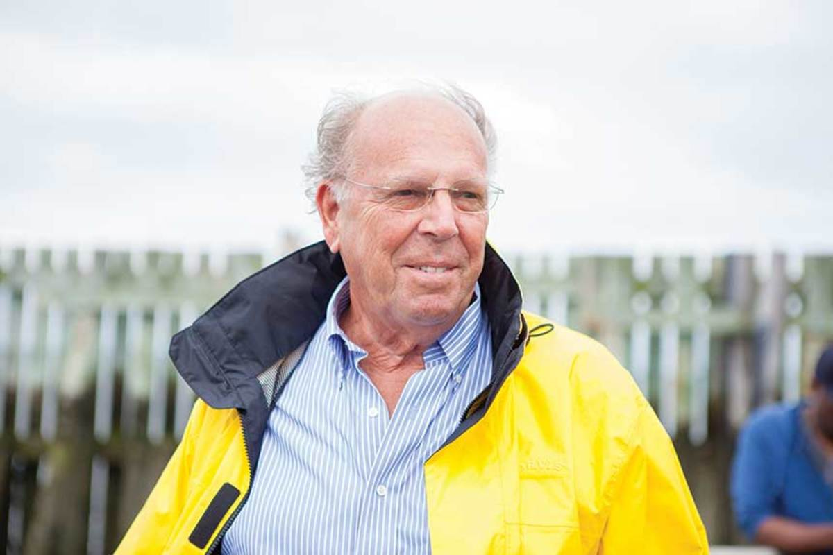 In addition to donating, Tom Niles serves on the Coast Guard Foundation's  board of directors.