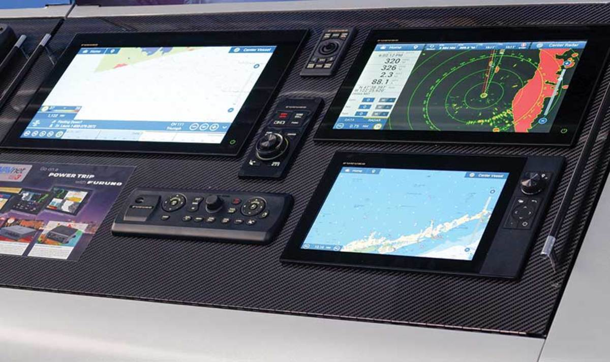 Furuno recently launched a series of multifunction displays with cloud capabilities.