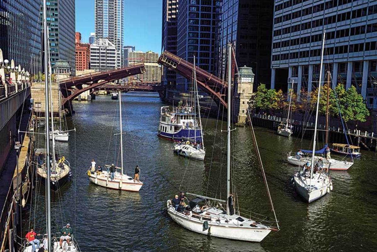 Boaters should know the rules for navigating bridges.  Planning, patience and good etiquette are also handy.