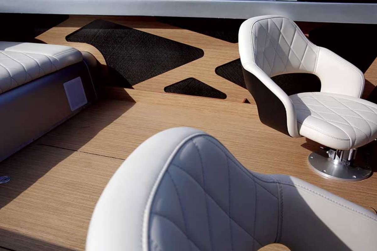 The Zin-designed         interior
