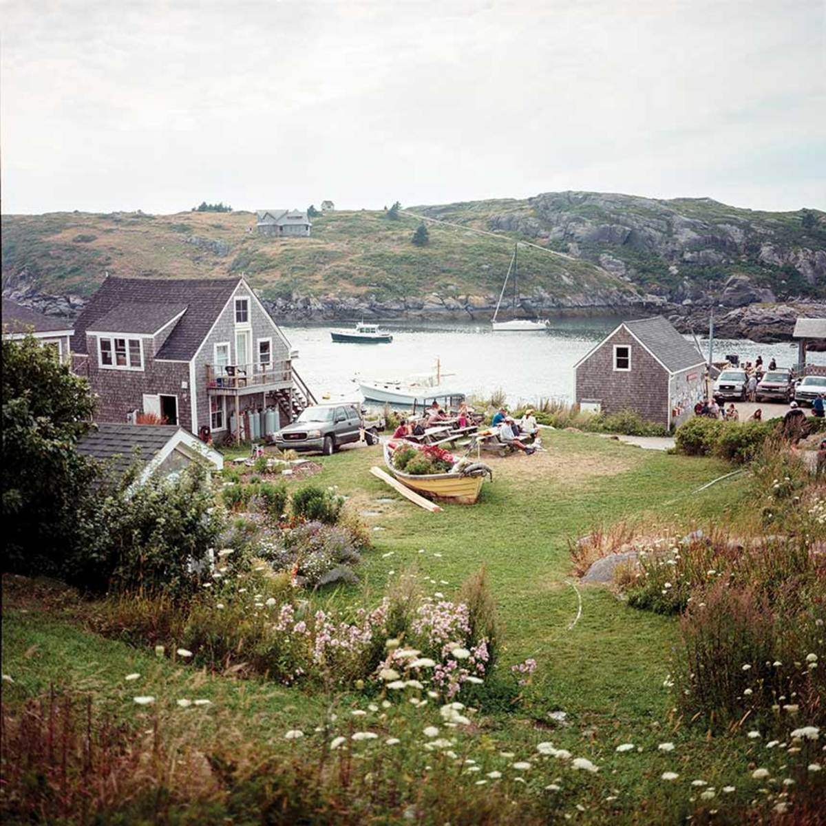 Life on Monhegan Island is centered around its lovely harbor. A short walk from the village, and you can be all alone.