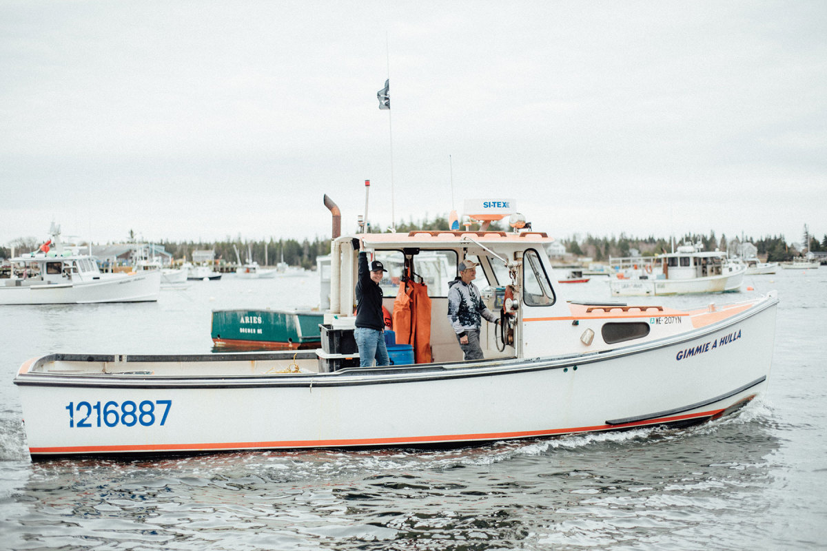 By collecting data on the location of fishing boats, planners can understand more about the lobster fishery itself.