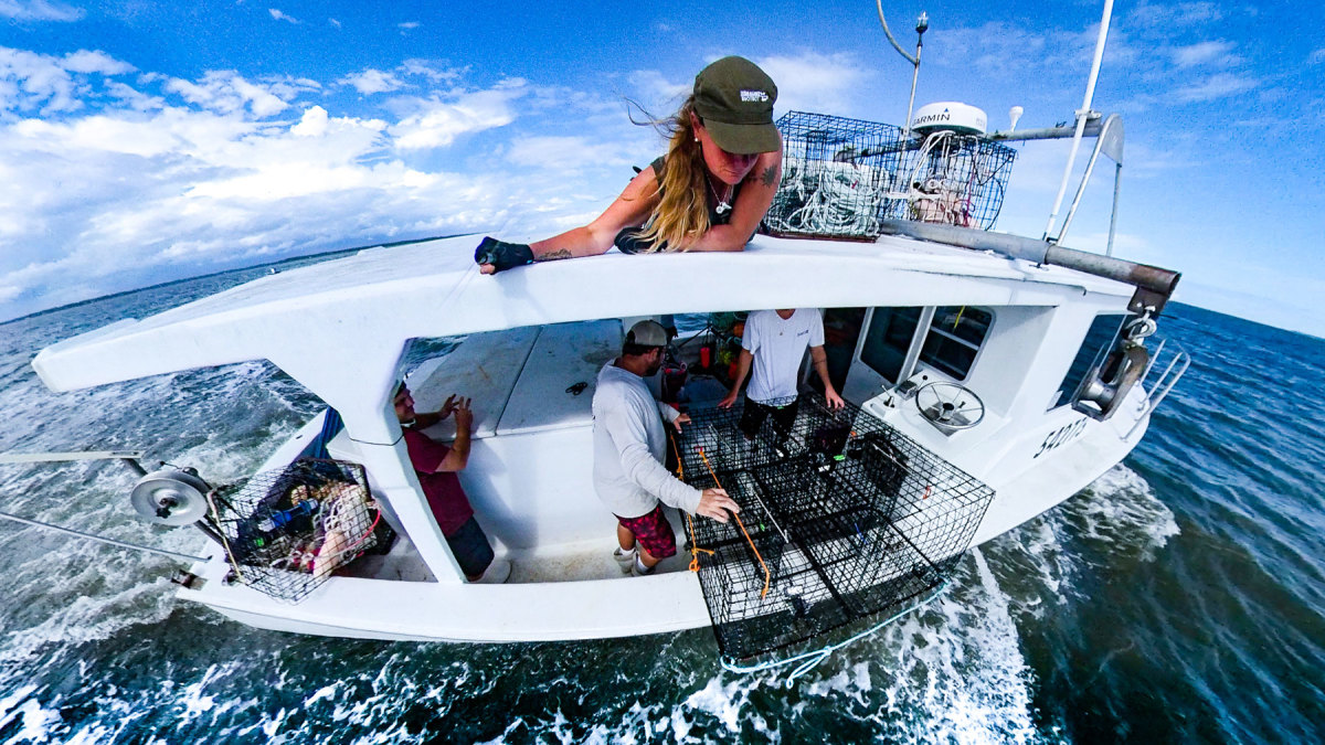 Kim Sawicki founded Sustainable Seas, the organization helping to develop the ropeless technology currently being tested in New England fisheries.