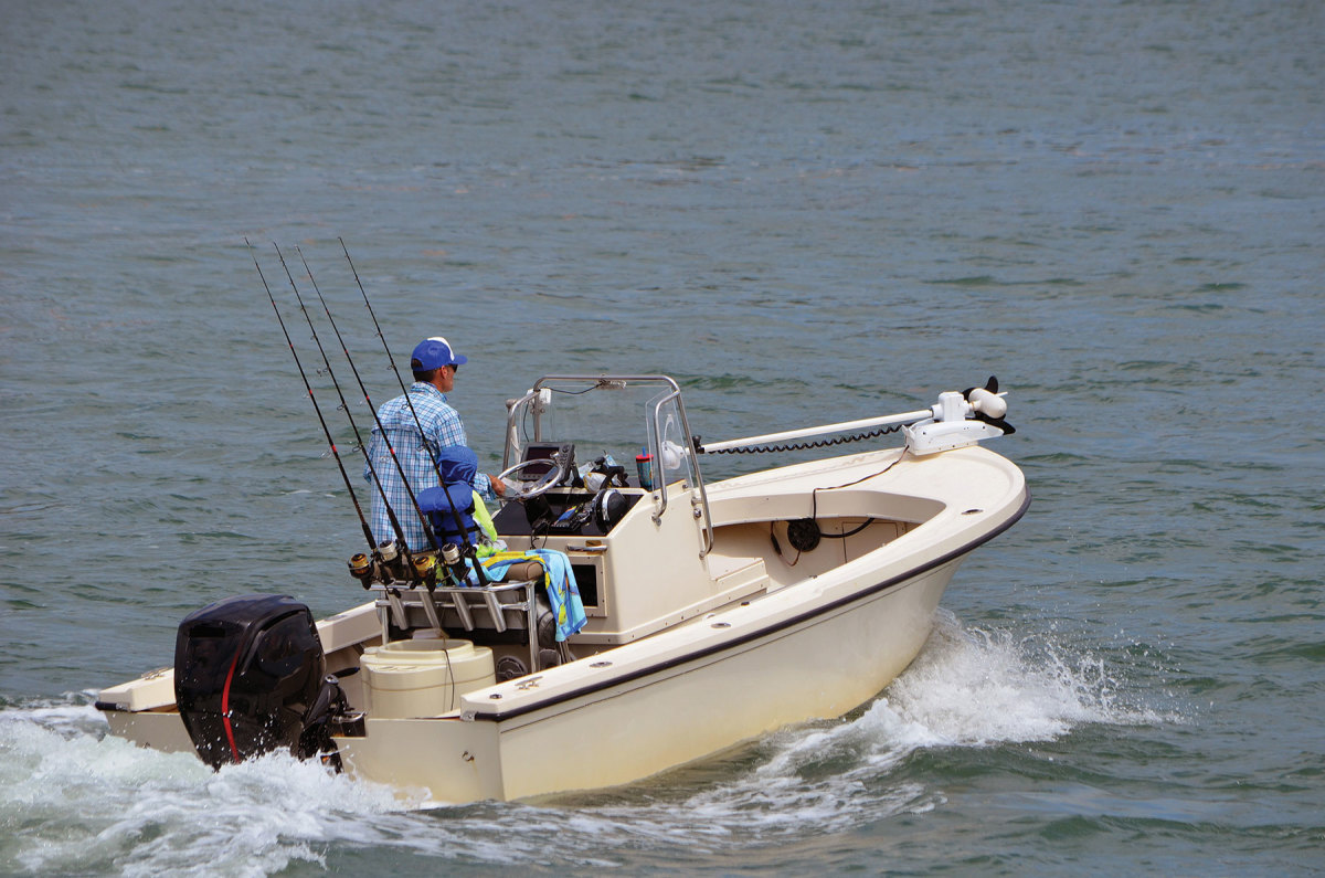 The nonprofit wants boaters who cruise waters in the state to pick up their radios and call in shark sightings.