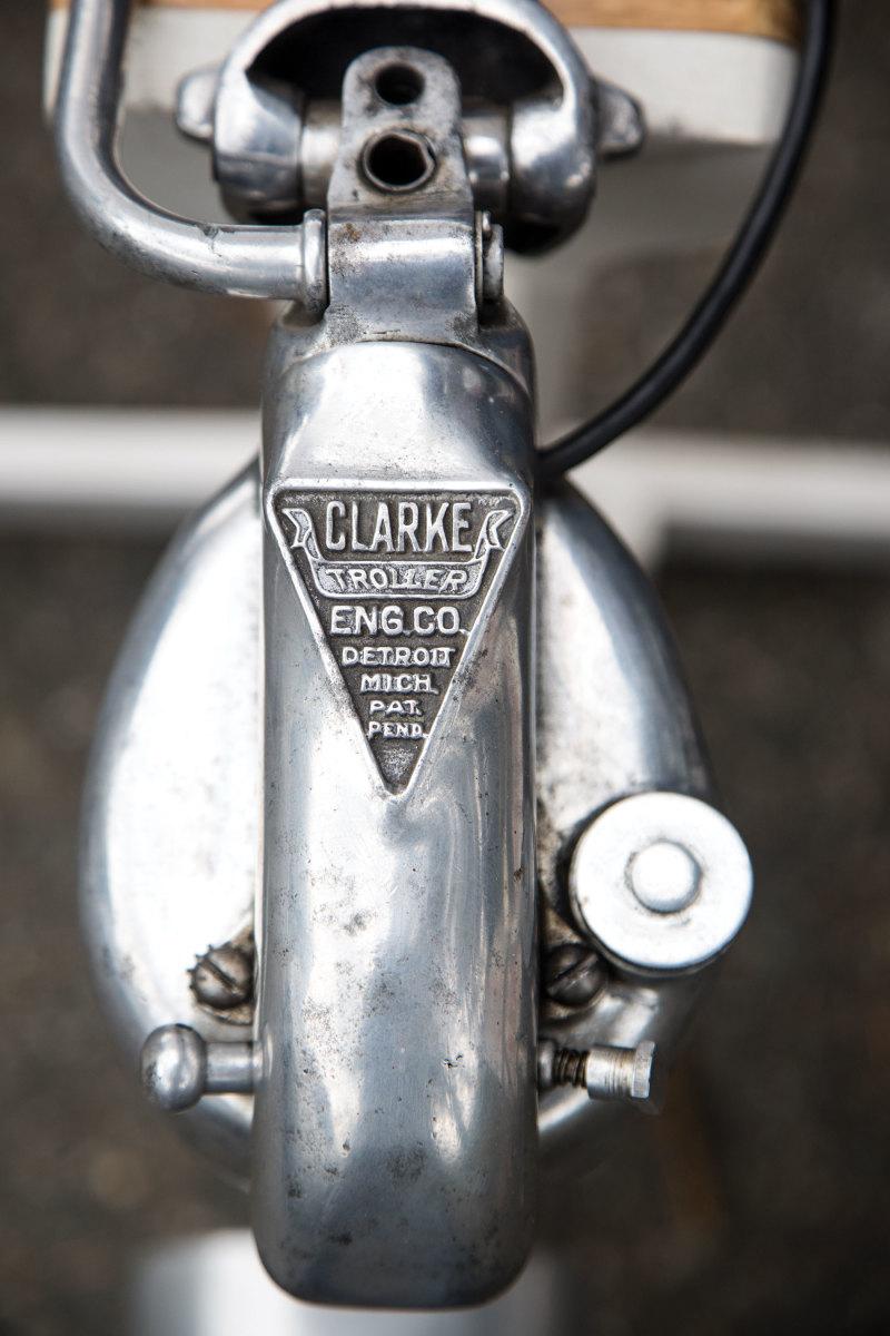 A rare Clarke Troller motor built in the 1930s