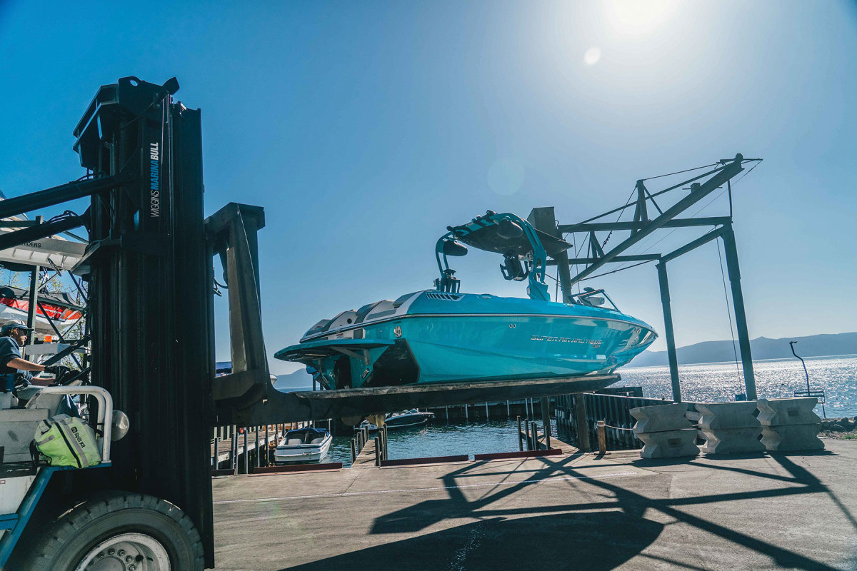 Widespread adoption of CCS hasn't happened in the marine world yet, but could soon as more electric boats hit the water, including the Super Air Nautique GS22E.